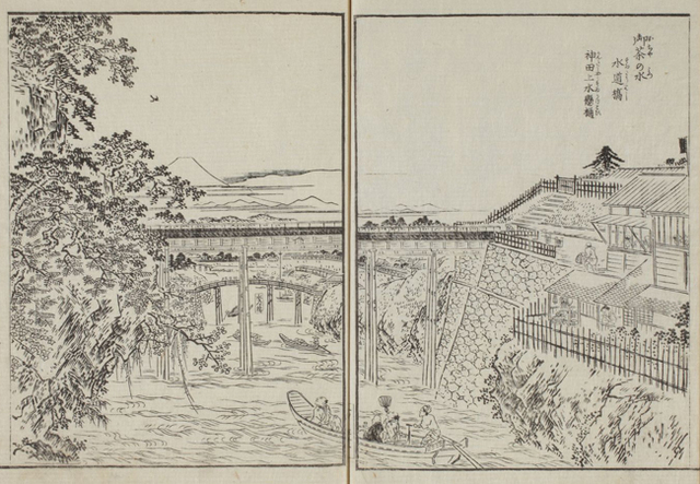 江戸名所図会1巻、お茶の水・水道橋.jpg